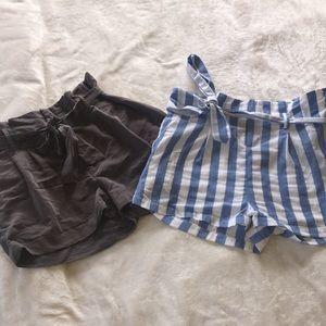 High Waisted Shorts Bundle